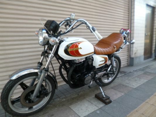 CB250T 6速キック付きE/G400