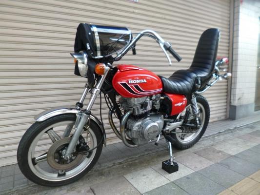 HONDA CB400TホークⅡ バイクの詳...