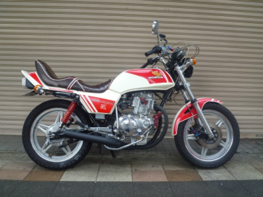 CB400TホークN仕様