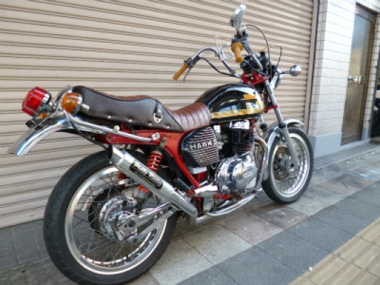 CB400Tホーク250登録